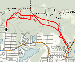 Longleaf Greenway Map