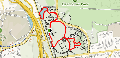 Eisenhower Park Map Eisenhower Park Loop   New York | AllTrails