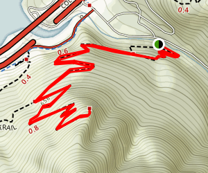Wauna Viewpoint Trail (CLOSED) Map
