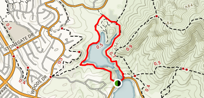 Upper Otay Reservoir Map