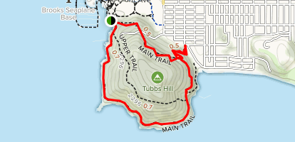 Tubbs Hill Map