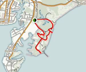 North Point State Park Trail Map