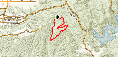 Sycamore Canyon Preserve Map