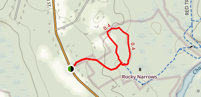Rocky Narrows Map
