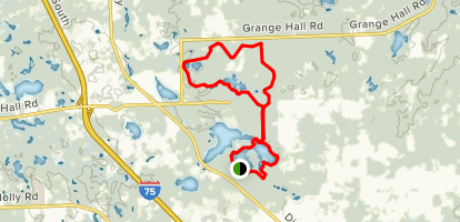 Holly Recreation Area Trail Map