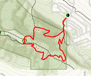 Badger Canyon Trail Map