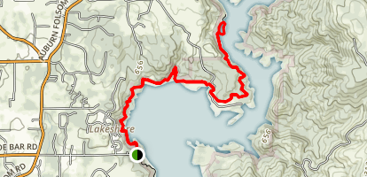 Avery's Pond via the Pioneer Express Trail Map