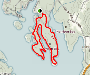 Harrison Bay Map