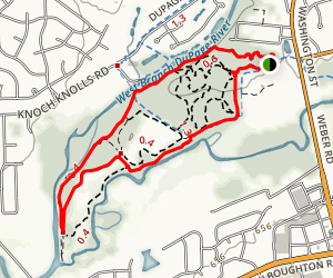 Knoch Knoll Park Trail Map