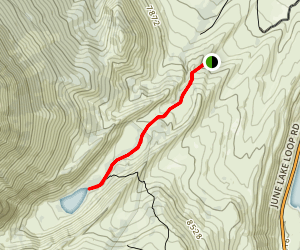 Parker Lake Trail Map