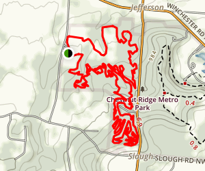 Chestnut Ridge Trail Map