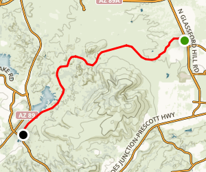 Iron King Trail Map
