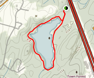 Gates Pond Map