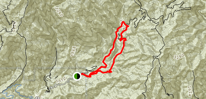 Ben Overturff Trail Map