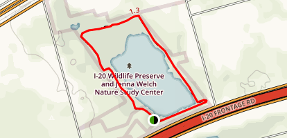 I-20 Wildlife Preserve Map
