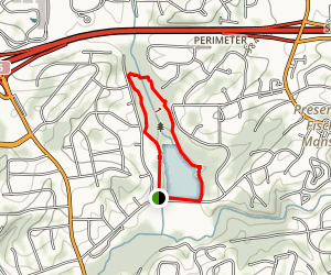 Murphey Candler Park Trail Map