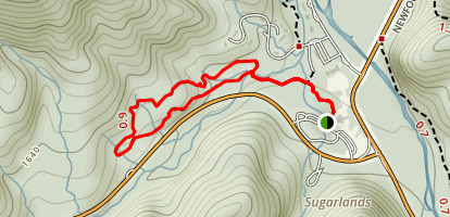 Fighting Creek Nature Trail Map