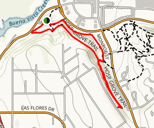 Hosp Grove Trail Map