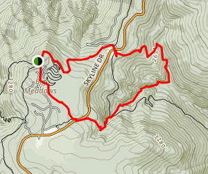 Dark Hollow Trail Map