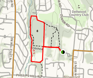 Kennedy Dells Park Map