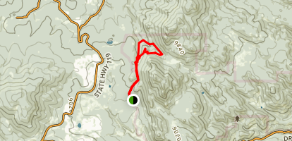 Panorama Point Trail Map