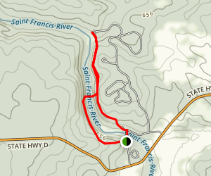 Silver Mine Trail Map