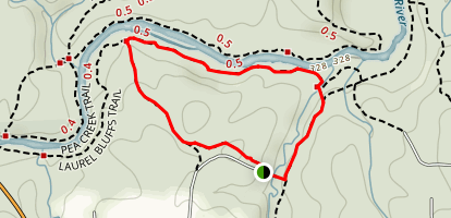 Pump Station Trail Loop Map