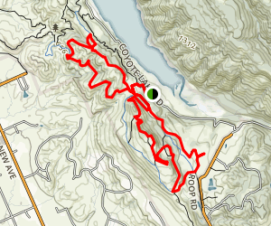 Gaviota Trail to Mendoza Trail Loop Map