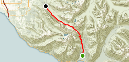 Powerline Pass Trail Map