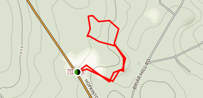 Ransmeier Hiking Trail Orange Loop Map
