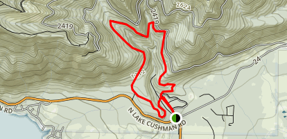 Upper Big Creek Trail Loop Map