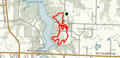 Larry Mattenon Memorial Trail Map