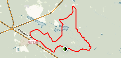 Pakim Pond Loop Trail (Mt. Misery Trail) Map