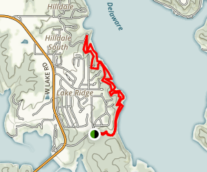 Perry State Park Trails Map