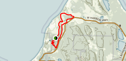 Bay View Hiking Trails Map