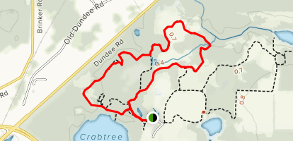 Crabtree Nature Center Trails Map