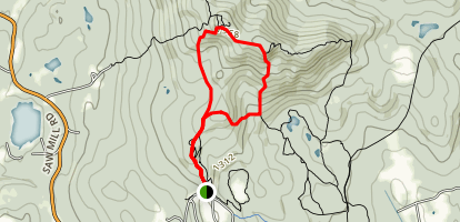 Crotched Mountain Loop Map