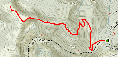 Bowman's Shortcut Trail  Map