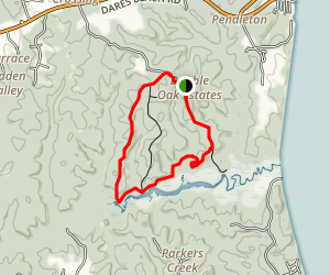 Parkers Creek Loop Map