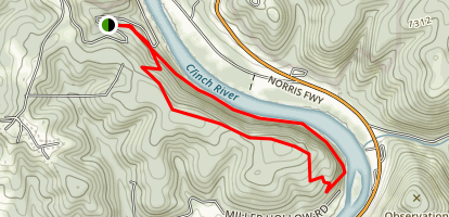 River Bluff Trail Map