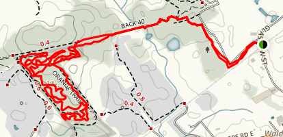 West Side Trails  Map