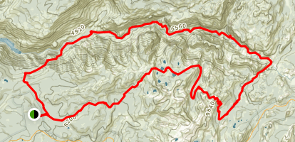 Grand Canyon of the Tuolumne Map