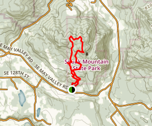 Phils Trail-Thrush Gap Loop Map