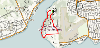 Lemoine Point Conservation Area  Map