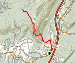 Long Path Trail Map
