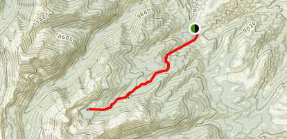 Pass Creek Trail Map