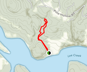 Crack in the Rock Trail Map