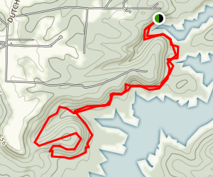 Cove Hollow Trail Map