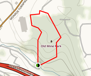 Trumbull / Old Mine Park Map