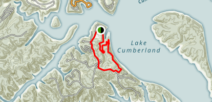 Lake Cumberland Trail Map